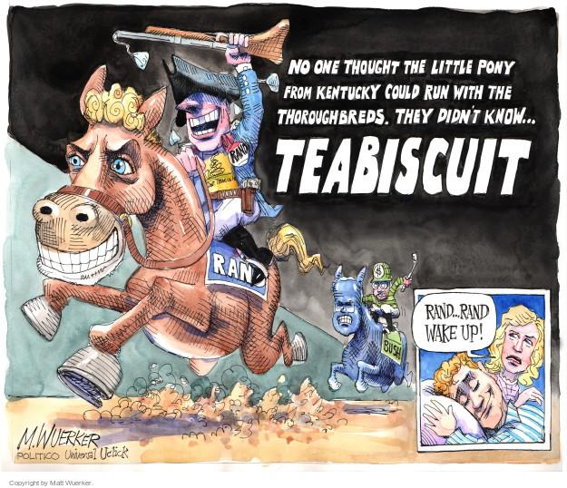 Cartoonist Matt Wuerker  Matt Wuerker's Editorial Cartoons 2015-05-04 2016 election Jeb Bush