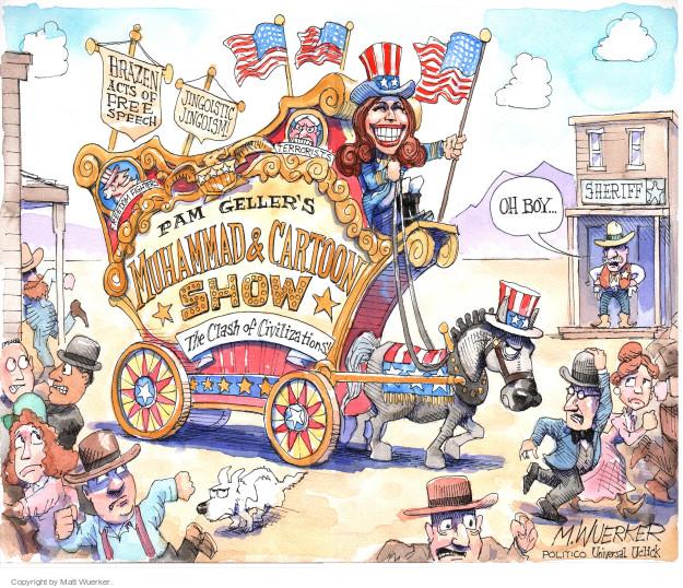 Matt Wuerker  Matt Wuerker's Editorial Cartoons 2015-05-05 freedom of speech
