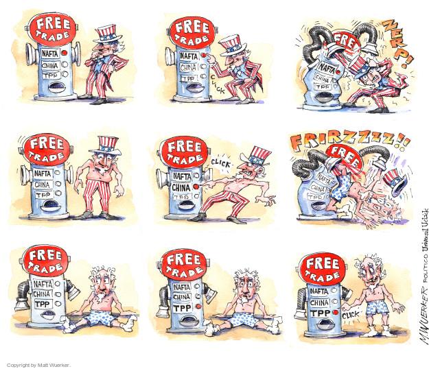 Cartoonist Matt Wuerker  Matt Wuerker's Editorial Cartoons 2015-05-27 global economy