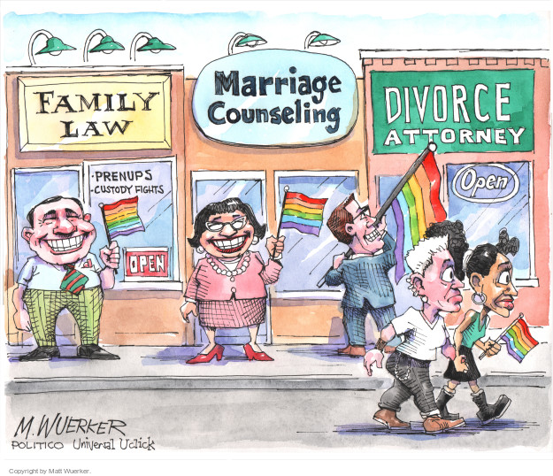 Cartoonist Matt Wuerker  Matt Wuerker's Editorial Cartoons 2015-06-29 business