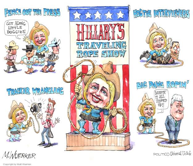 Matt Wuerker  Matt Wuerker's Editorial Cartoons 2015-07-06 Bill Clinton