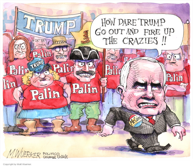Cartoonist Matt Wuerker  Matt Wuerker's Editorial Cartoons 2015-07-20 tea party