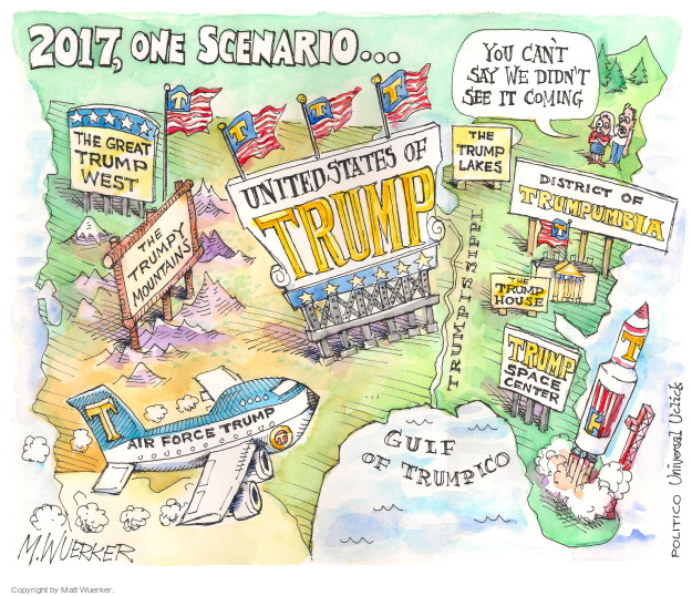 Matt Wuerker  Matt Wuerker's Editorial Cartoons 2015-08-04 Air Force One