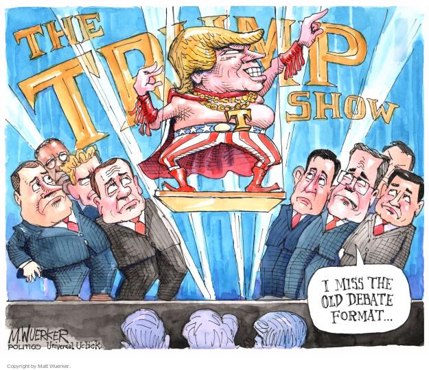 Matt Wuerker  Matt Wuerker's Editorial Cartoons 2015-08-06 Donald Trump Fox News
