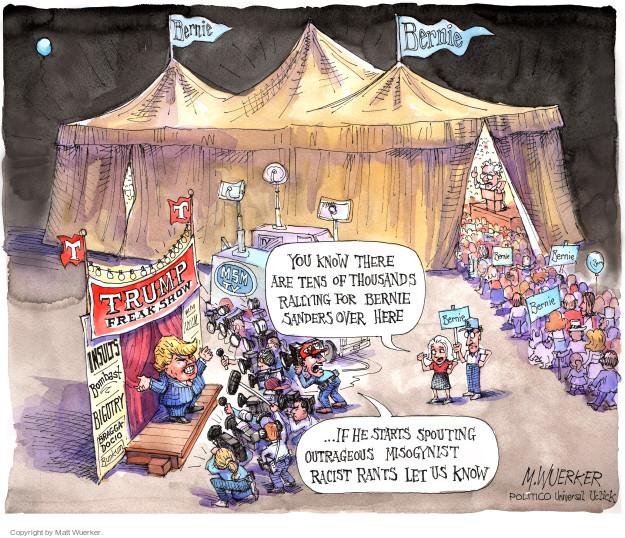 Cartoonist Matt Wuerker  Matt Wuerker's Editorial Cartoons 2015-08-14 bigotry
