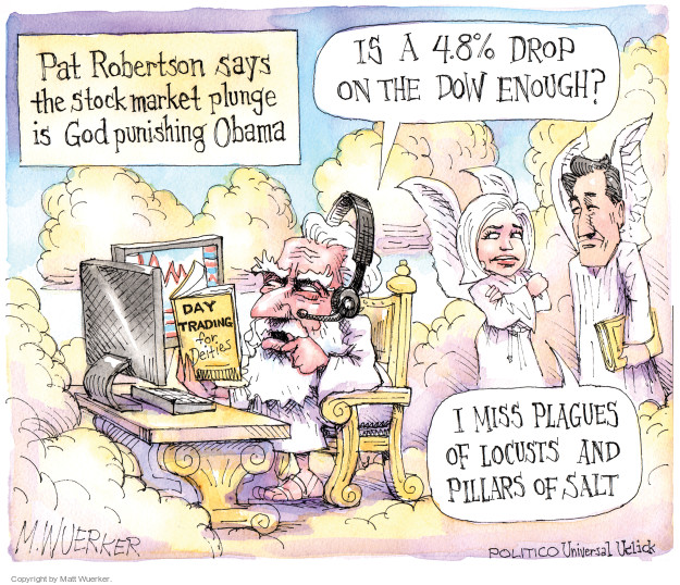 Cartoonist Matt Wuerker  Matt Wuerker's Editorial Cartoons 2015-08-25 blame Obama