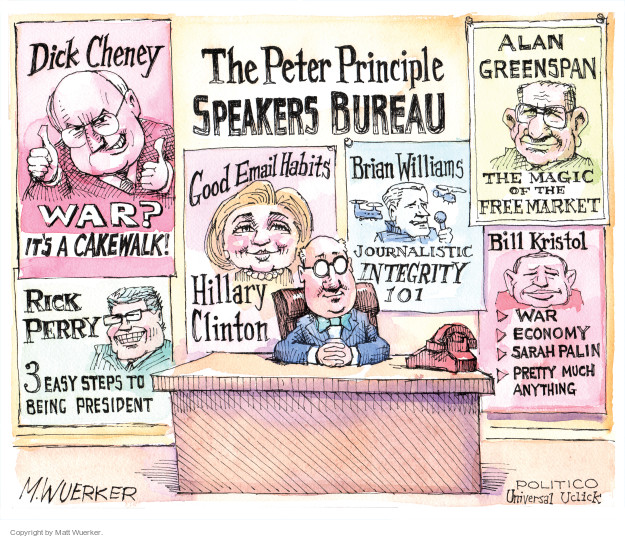 Cartoonist Matt Wuerker  Matt Wuerker's Editorial Cartoons 2015-09-11 Dick Cheney