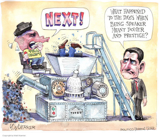 Cartoonist Matt Wuerker  Matt Wuerker's Editorial Cartoons 2015-10-12 tea party