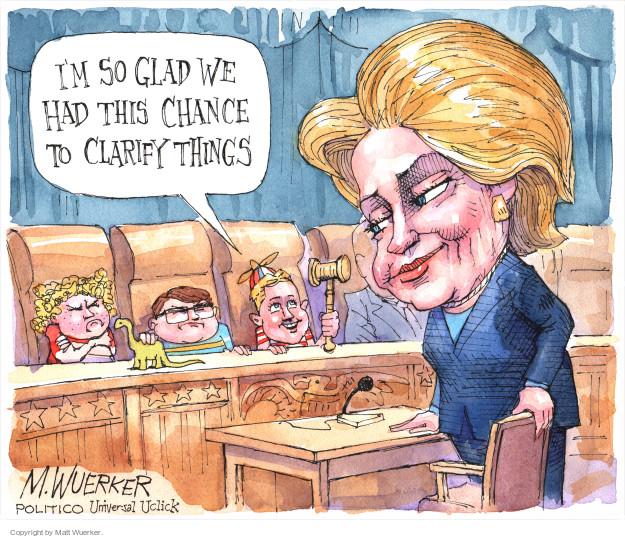 Cartoonist Matt Wuerker  Matt Wuerker's Editorial Cartoons 2015-10-23 Secretary of State