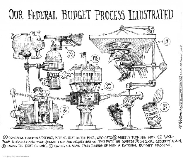 Cartoonist Matt Wuerker  Matt Wuerker's Editorial Cartoons 2015-10-28 federal budget