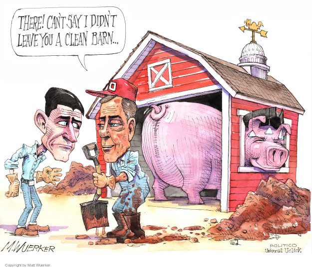 Cartoonist Matt Wuerker  Matt Wuerker's Editorial Cartoons 2015-10-30 tea party