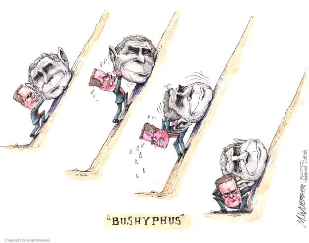 Matt Wuerker  Matt Wuerker's Editorial Cartoons 2015-11-04 bush