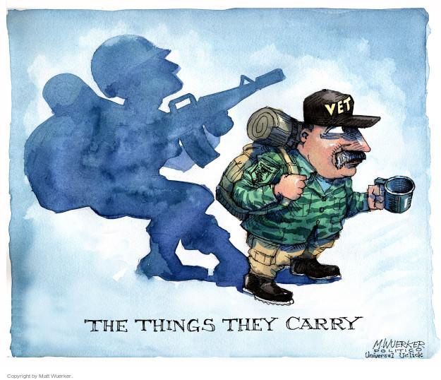 Cartoonist Matt Wuerker  Matt Wuerker's Editorial Cartoons 2015-11-11 weapon