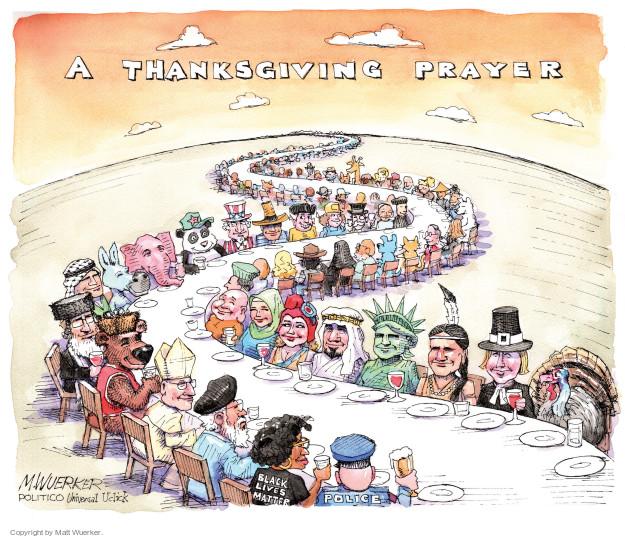 Cartoonist Matt Wuerker  Matt Wuerker's Editorial Cartoons 2015-11-25 liberty