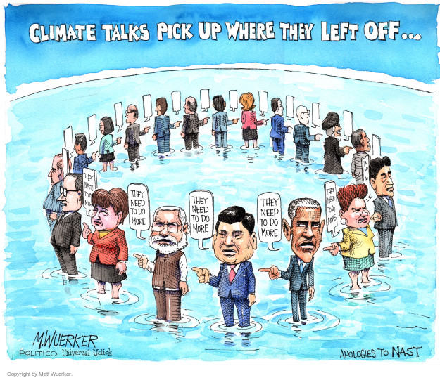 Cartoonist Matt Wuerker  Matt Wuerker's Editorial Cartoons 2015-12-01 blame Obama