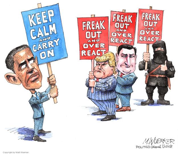 Cartoonist Matt Wuerker  Matt Wuerker's Editorial Cartoons 2015-12-07 Ted Cruz