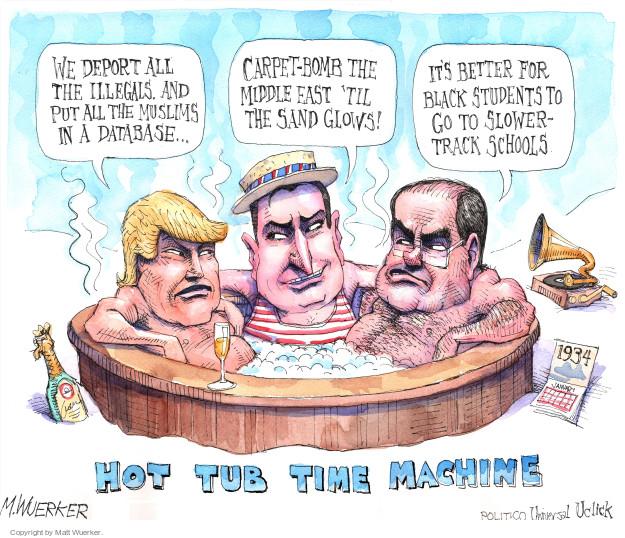 Cartoonist Matt Wuerker  Matt Wuerker's Editorial Cartoons 2015-12-11 bias