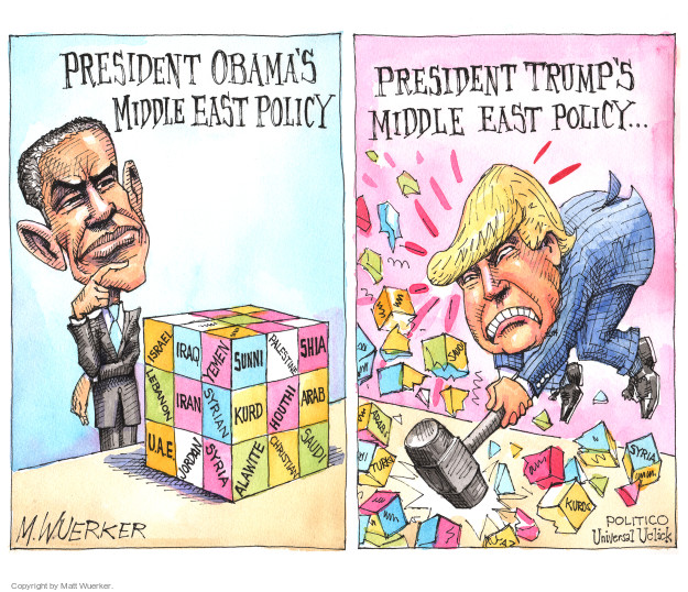 Cartoonist Matt Wuerker  Matt Wuerker's Editorial Cartoons 2015-12-17 mideast