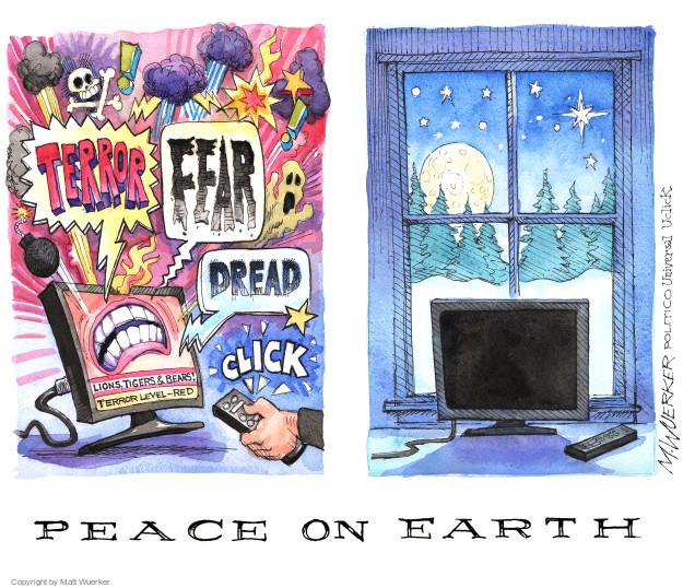 Cartoonist Matt Wuerker  Matt Wuerker's Editorial Cartoons 2015-12-21 terror