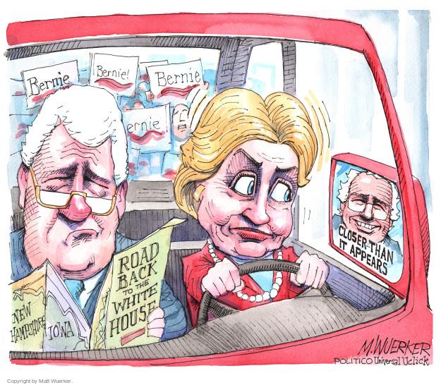 Matt Wuerker  Matt Wuerker's Editorial Cartoons 2016-01-13 Bill Clinton