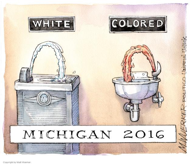 Matt Wuerker  Matt Wuerker's Editorial Cartoons 2016-01-20 racism