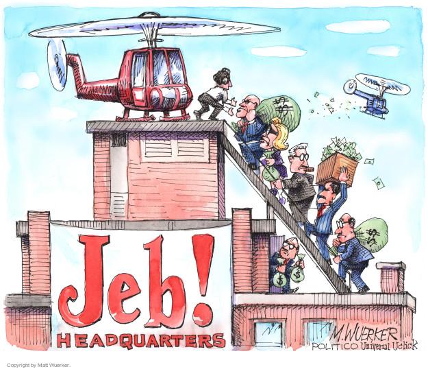 Matt Wuerker  Matt Wuerker's Editorial Cartoons 2016-01-26 bush