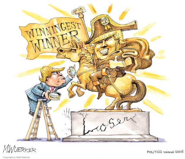 Matt Wuerker  Matt Wuerker's Editorial Cartoons 2016-02-02 Trump Foundation