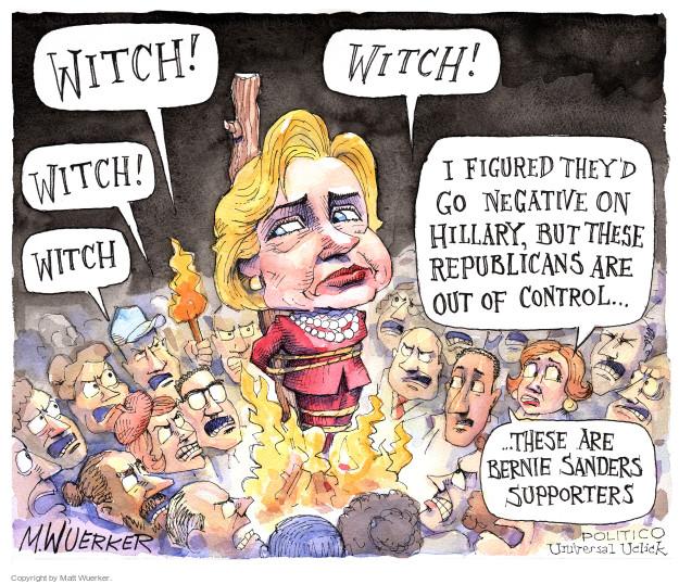 Matt Wuerker  Matt Wuerker's Editorial Cartoons 2016-02-08 Bernie Sanders