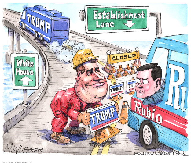 Cartoonist Matt Wuerker  Matt Wuerker's Editorial Cartoons 2016-02-29 governor