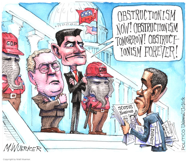 Cartoonist Matt Wuerker  Matt Wuerker's Editorial Cartoons 2016-03-10 house majority leader
