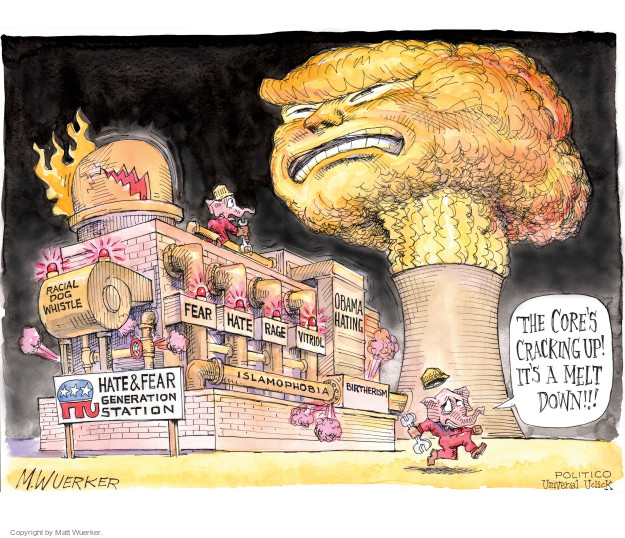 Matt Wuerker  Matt Wuerker's Editorial Cartoons 2016-03-15 Republican opposition
