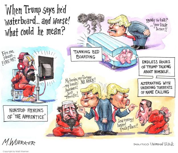 Cartoonist Matt Wuerker  Matt Wuerker's Editorial Cartoons 2016-03-23 terror