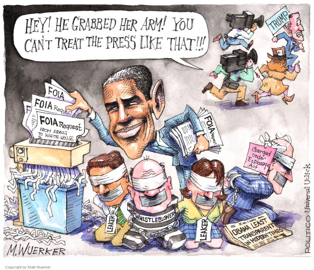 Matt Wuerker  Matt Wuerker's Editorial Cartoons 2016-04-02 freedom of the press