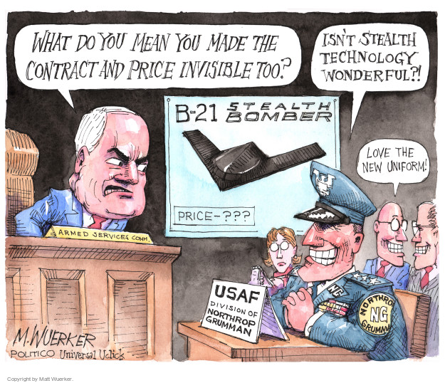 Cartoonist Matt Wuerker  Matt Wuerker's Editorial Cartoons 2016-04-10 military uniform