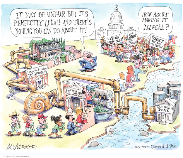 Cartoonist Matt Wuerker  Matt Wuerker's Editorial Cartoons 2016-04-12 IRS