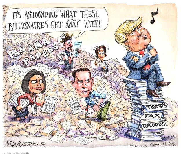 Matt Wuerker  Matt Wuerker's Editorial Cartoons 2016-04-06 international bank