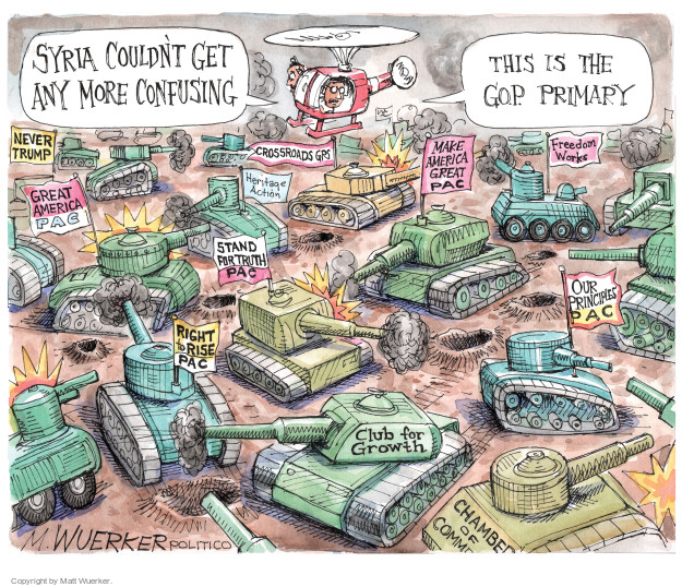 Matt Wuerker  Matt Wuerker's Editorial Cartoons 2016-04-19 opposition
