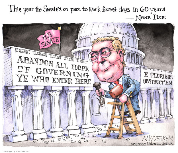 Matt Wuerker  Matt Wuerker's Editorial Cartoons 2016-05-04 Mitch McConnell