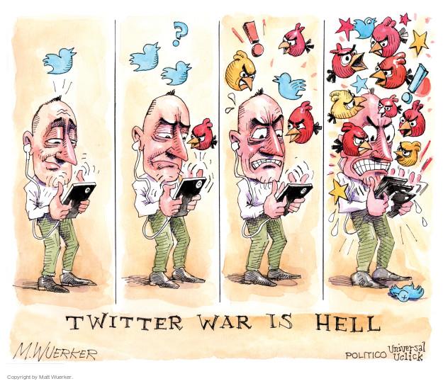 Cartoonist Matt Wuerker  Matt Wuerker's Editorial Cartoons 2016-05-05 flame