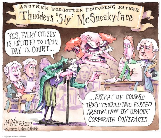 Matt Wuerker  Matt Wuerker's Editorial Cartoons 2016-05-10 Constitution