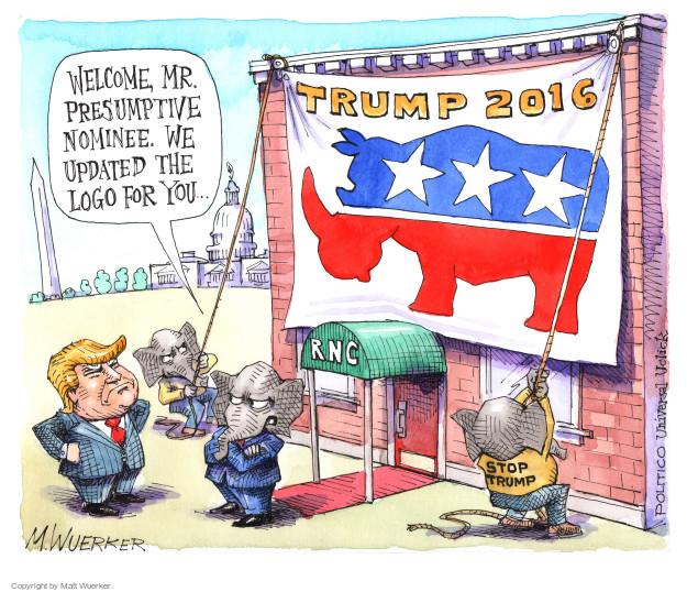 Cartoonist Matt Wuerker  Matt Wuerker's Editorial Cartoons 2016-05-11 campaign committee