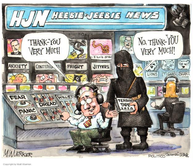 Cartoonist Matt Wuerker  Matt Wuerker's Editorial Cartoons 2014-11-17 terror