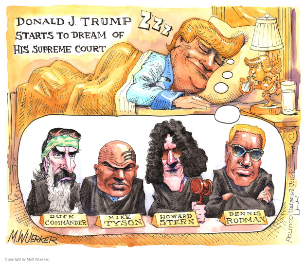 Matt Wuerker  Matt Wuerker's Editorial Cartoons 2016-05-24 Donald Trump