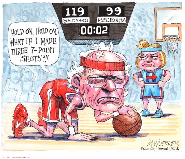 Matt Wuerker  Matt Wuerker's Editorial Cartoons 2016-06-07 Bernie Sanders