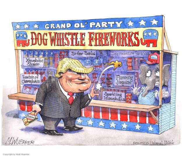Cartoonist Matt Wuerker  Matt Wuerker's Editorial Cartoons 2016-07-01 2016 election