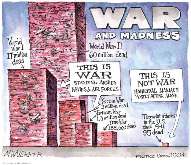 Cartoonist Matt Wuerker  Matt Wuerker's Editorial Cartoons 2016-07-15 Vietnam War