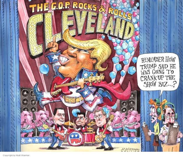 Cartoonist Matt Wuerker  Matt Wuerker's Editorial Cartoons 2016-07-18 Paul