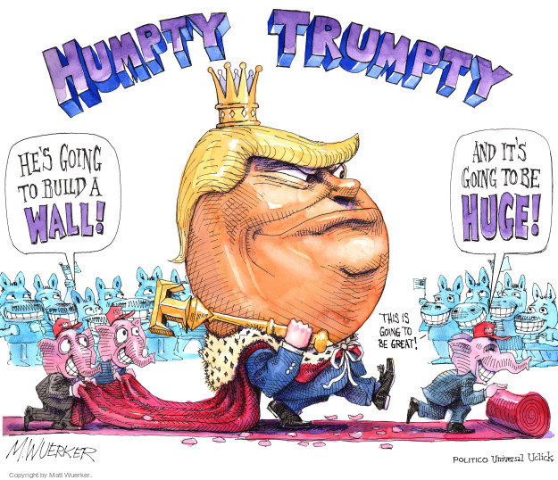Cartoonist Matt Wuerker  Matt Wuerker's Editorial Cartoons 2016-08-04 roll