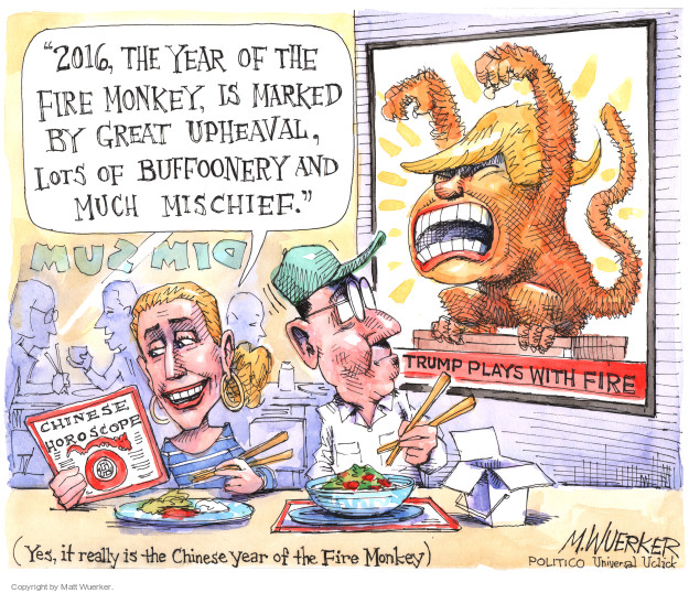 Cartoonist Matt Wuerker  Matt Wuerker's Editorial Cartoons 2016-08-11 behavior