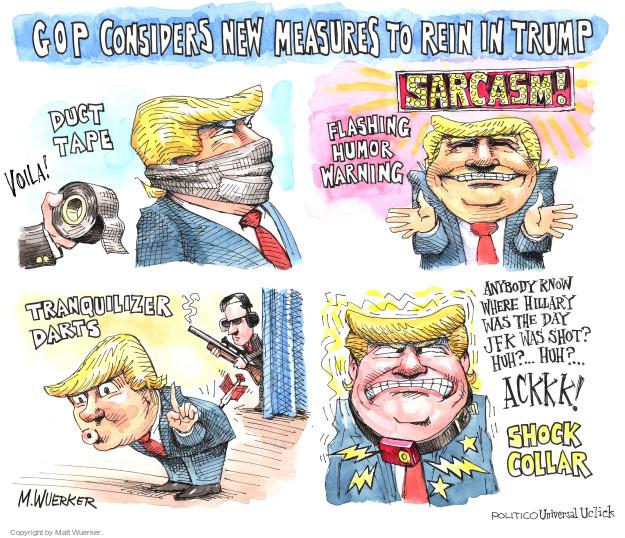 Matt Wuerker  Matt Wuerker's Editorial Cartoons 2016-08-16 lie